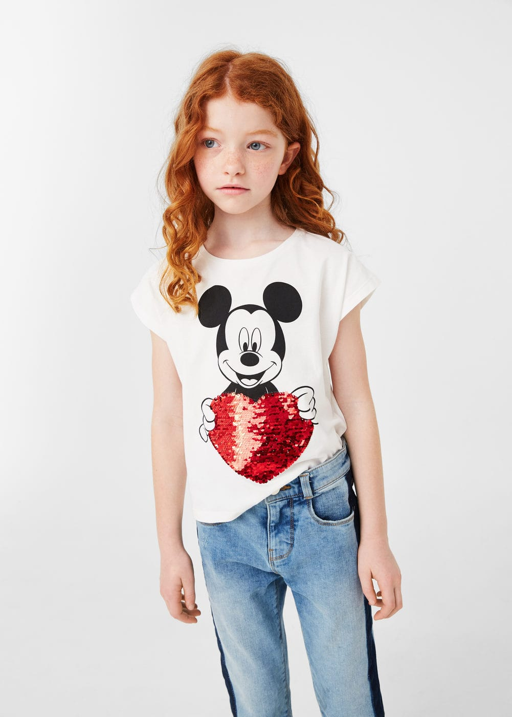 Magic sequin t-shirt | MANGO KIDS