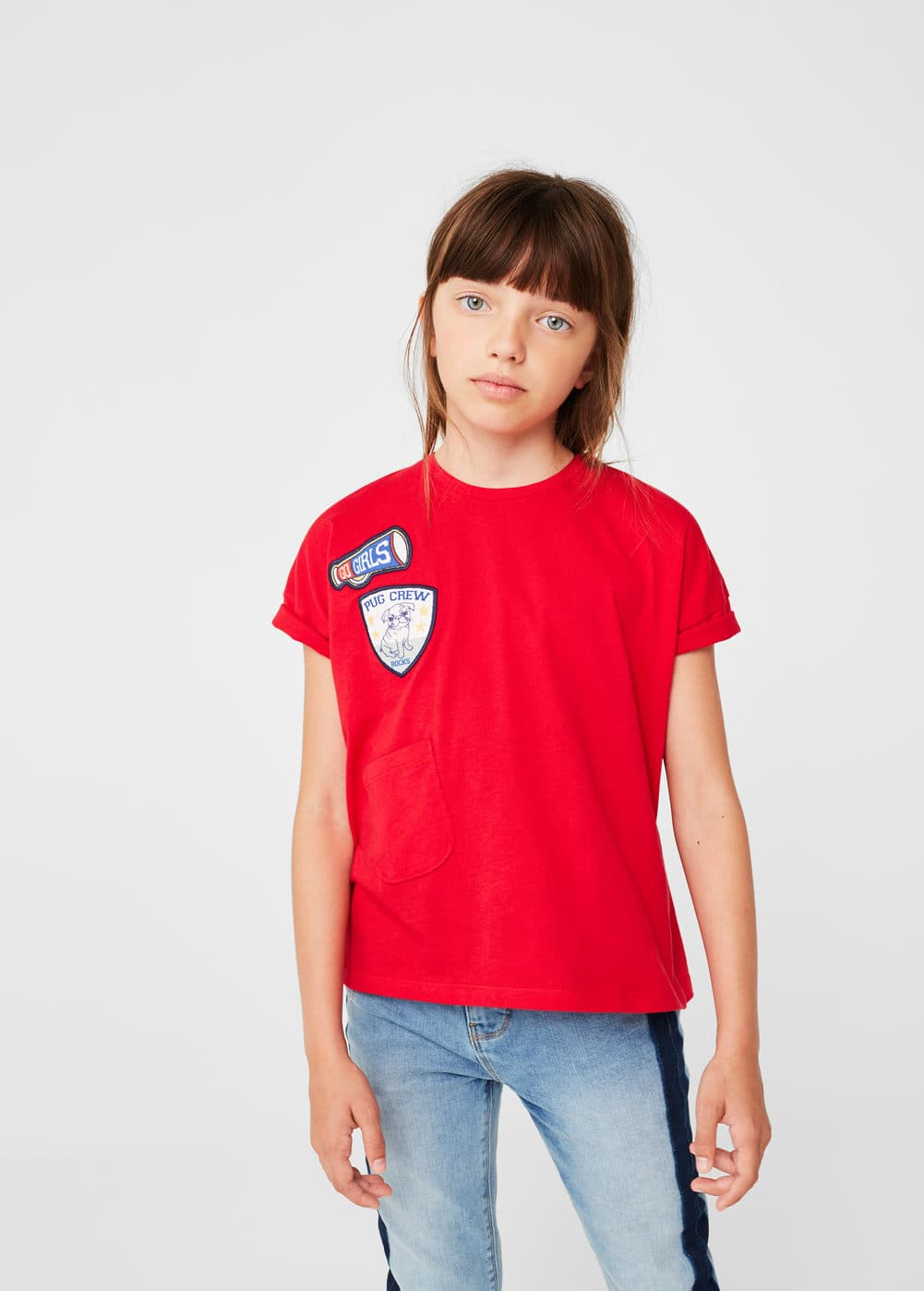 Patch pocket t-shirt | MANGO
