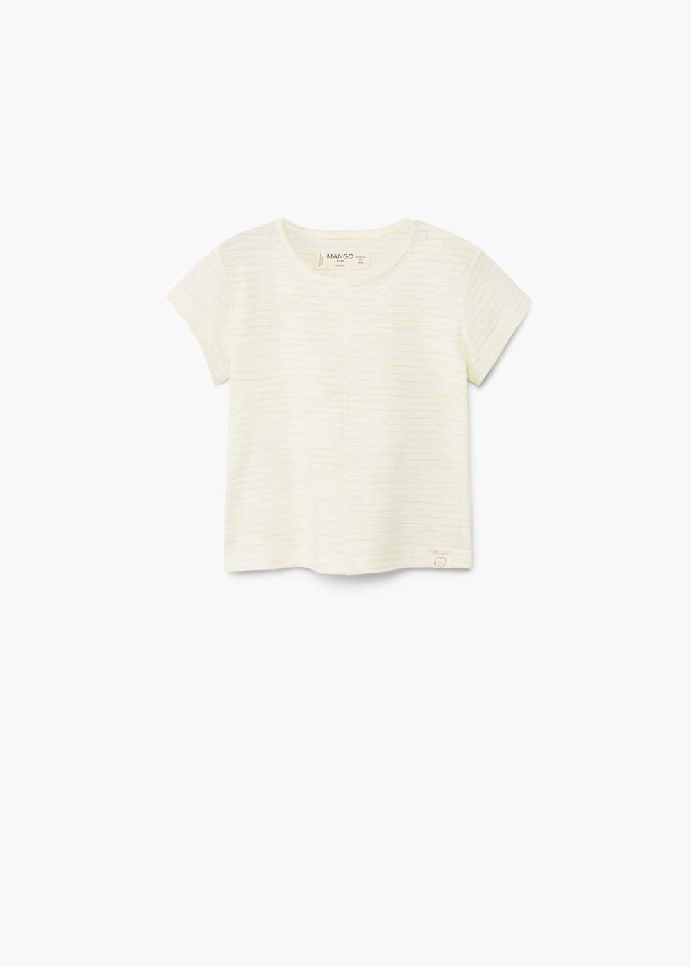 Organic cotton t-shirt | MANGO KIDS