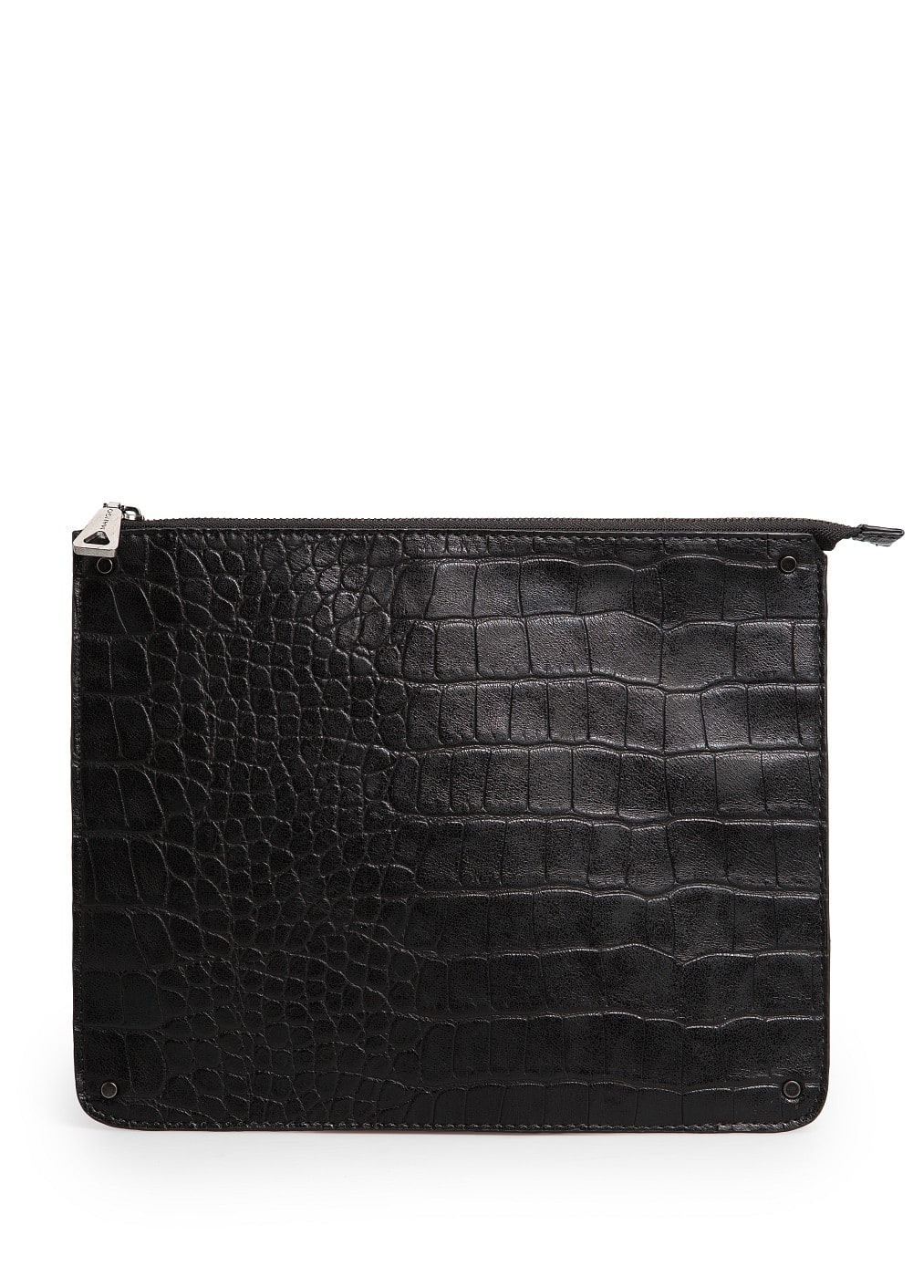 Croc effect ipad case | MANGO
