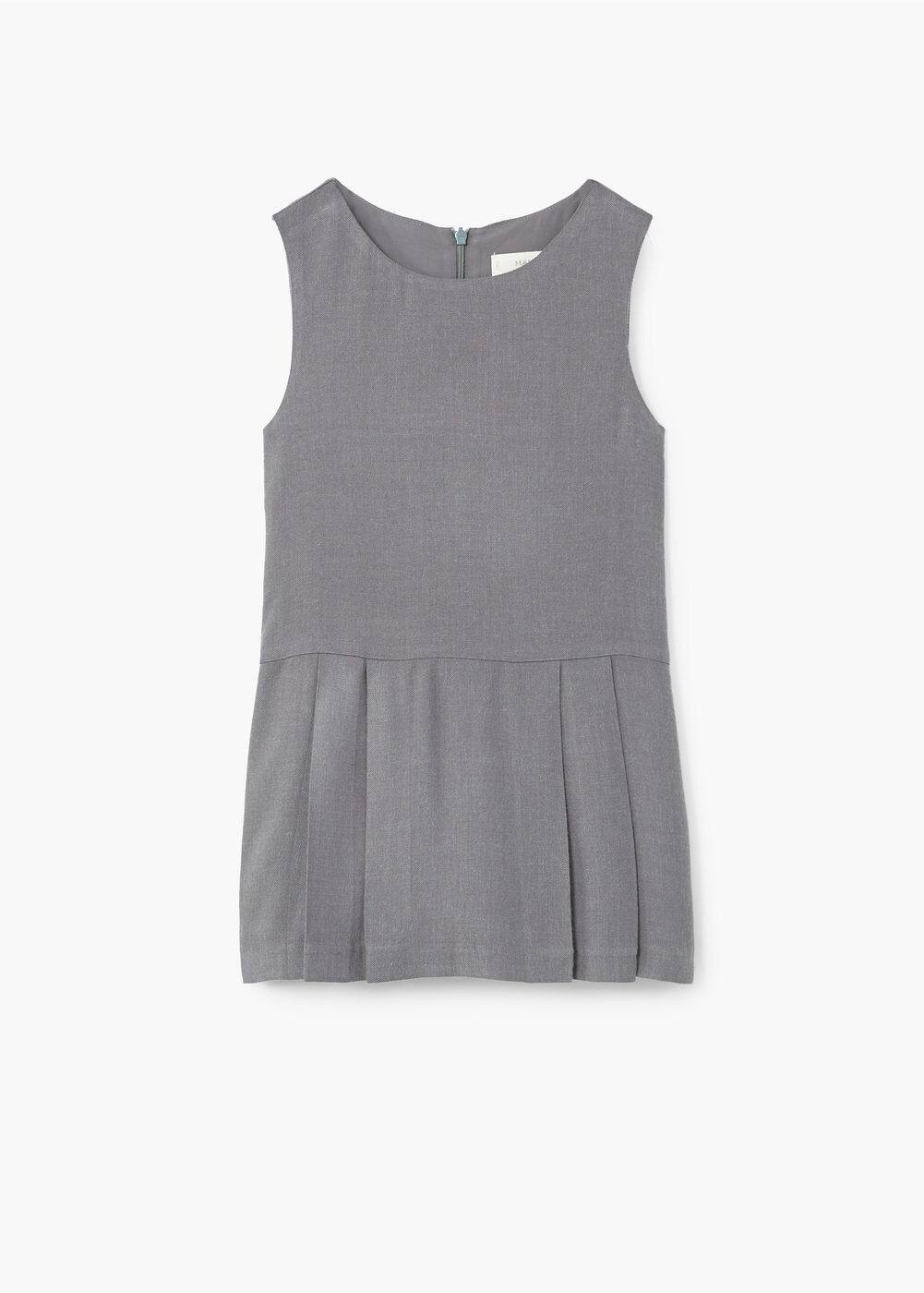 Textured shift dress | MANGO KIDS