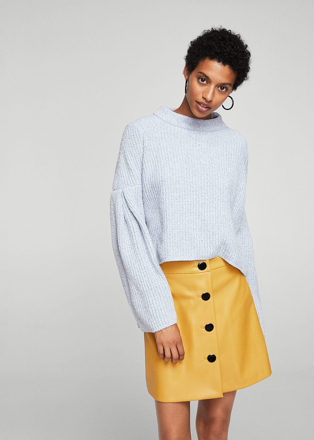 Flared sleeves sweater | MANGO