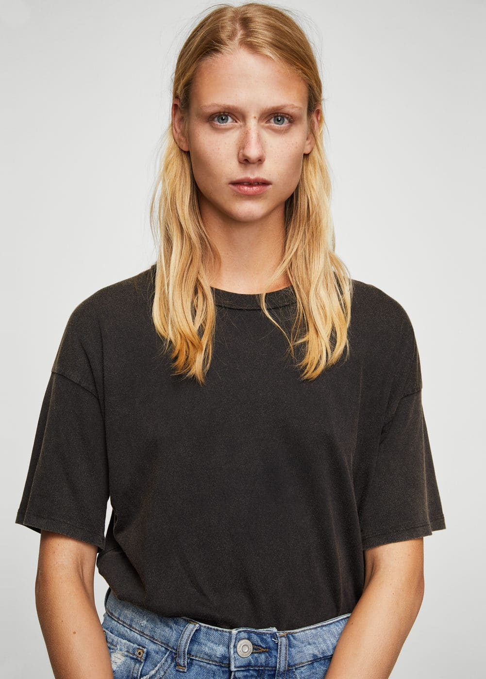 Rock cotton t-shirt | MANGO