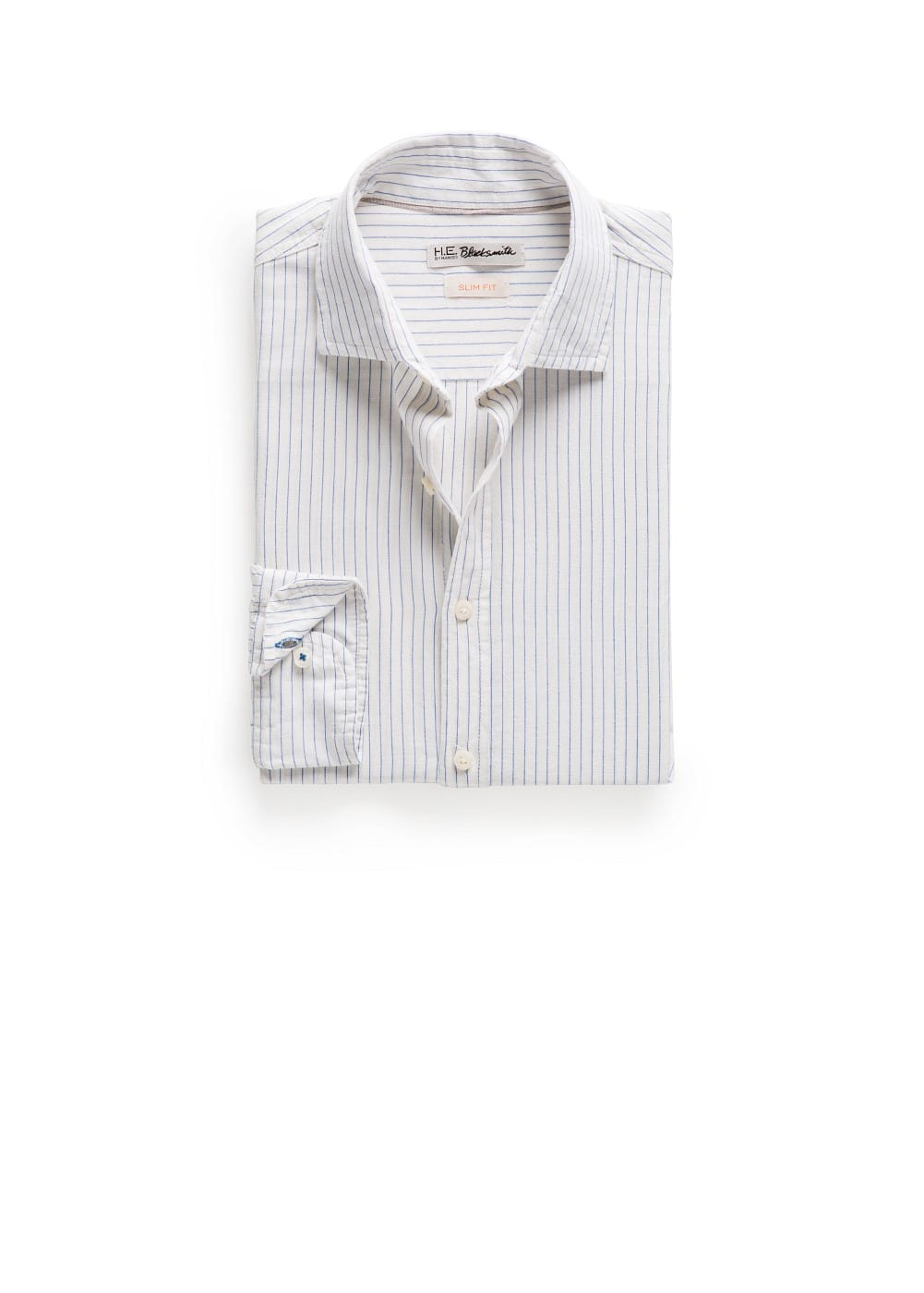 Slim-fit striped shirt | MANGO