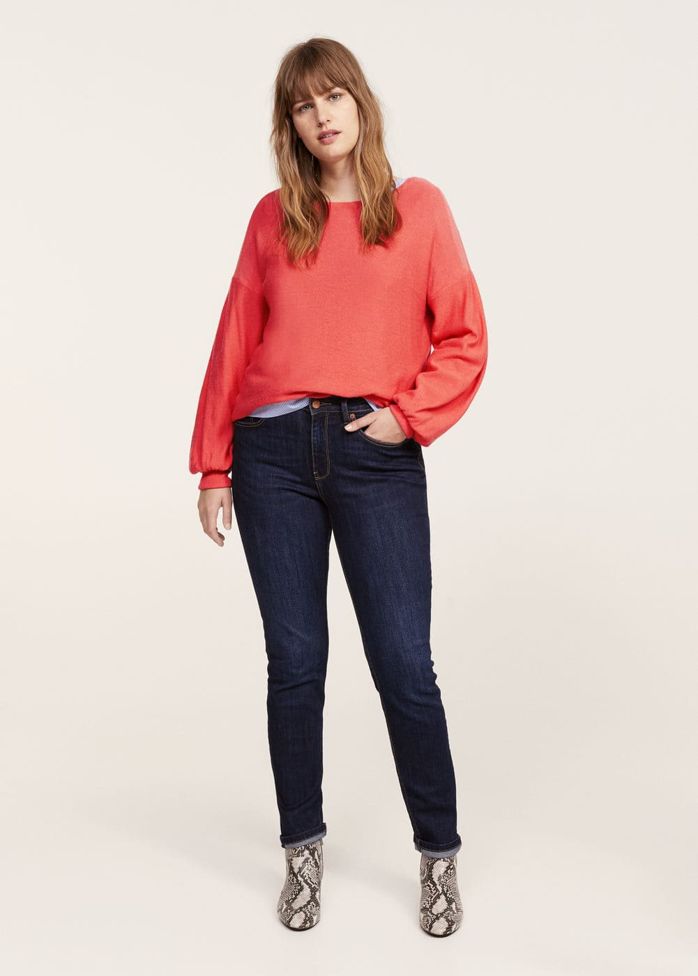 Puffed sleeves sweater | VIOLETA BY MANGO