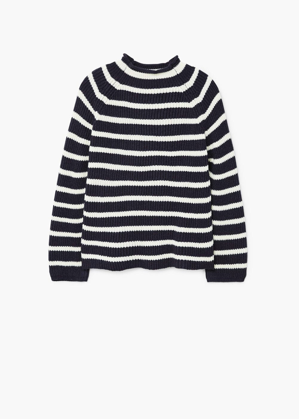 Pull-over en maille à rayures | MANGO