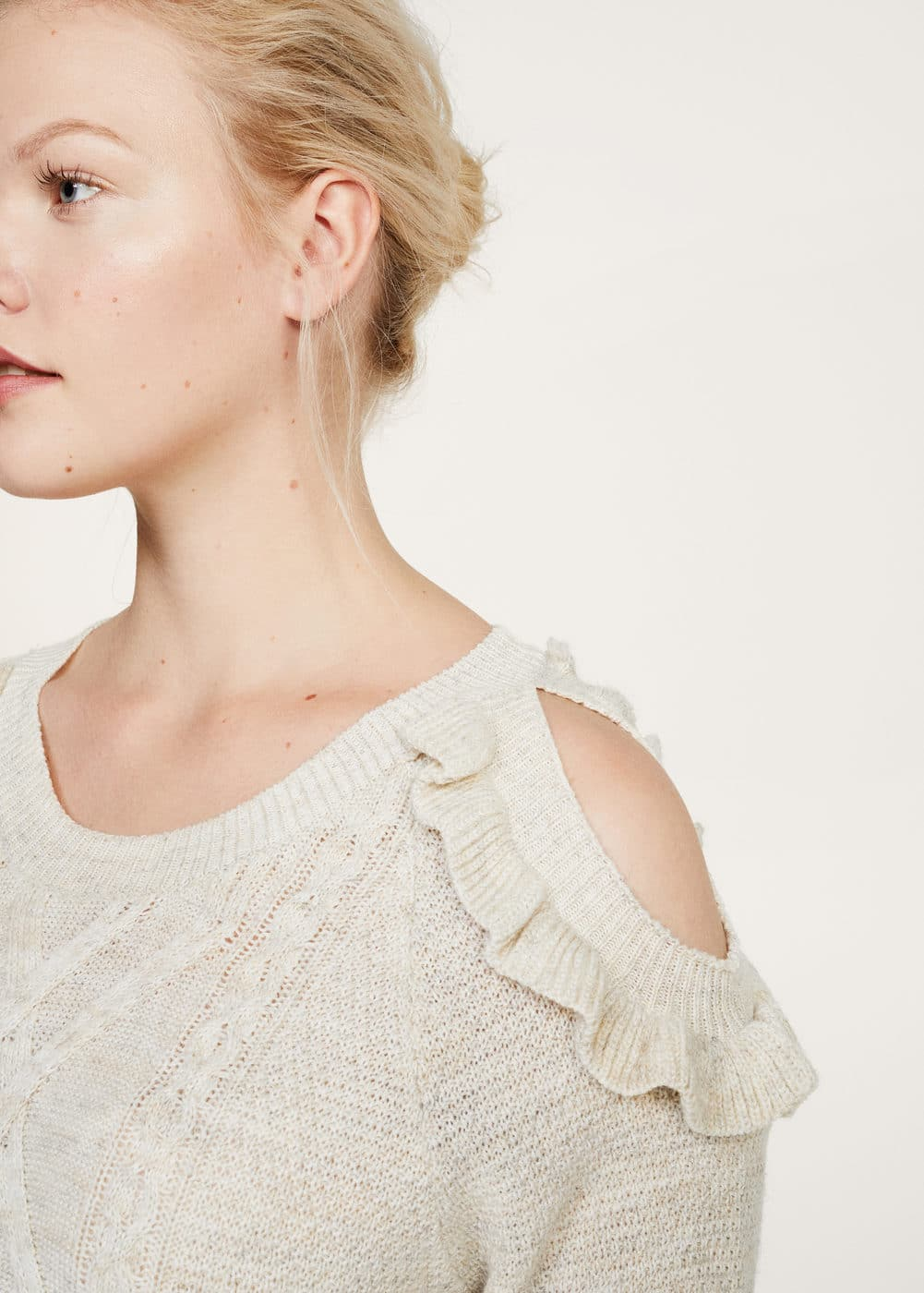 Knitted pattern sweater | VIOLETA BY MANGO