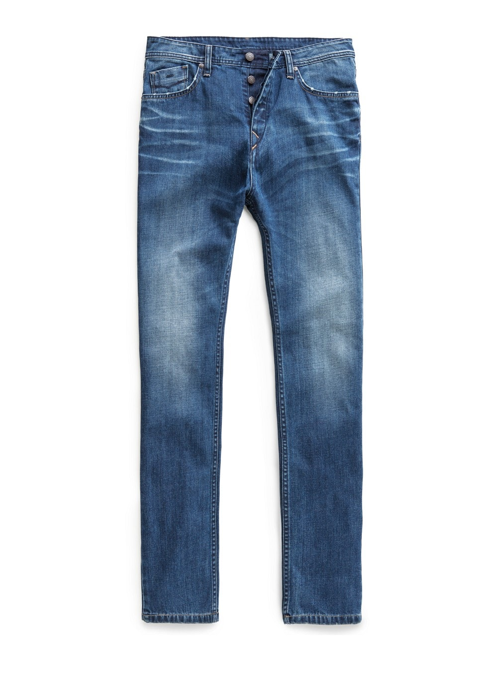 Slim-fit dark wash steve jeans | MANGO MAN