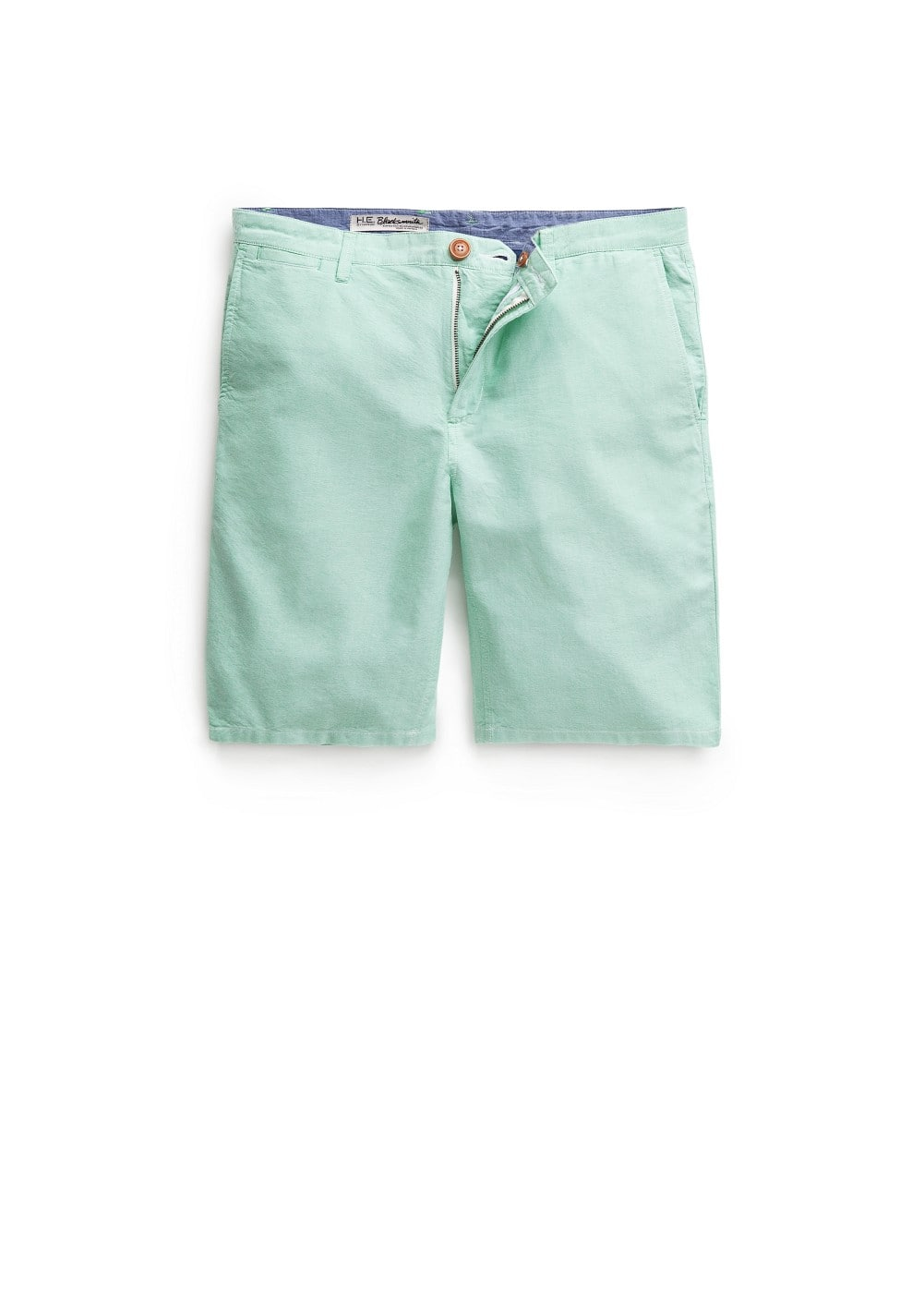 Cotton oxford bermuda shorts | MANGO