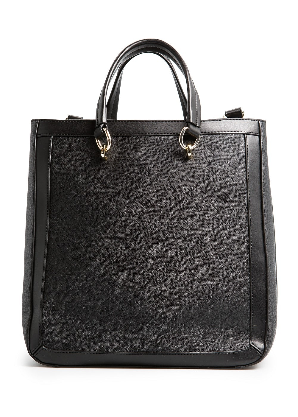 Saffiano effect tote bag | MANGO