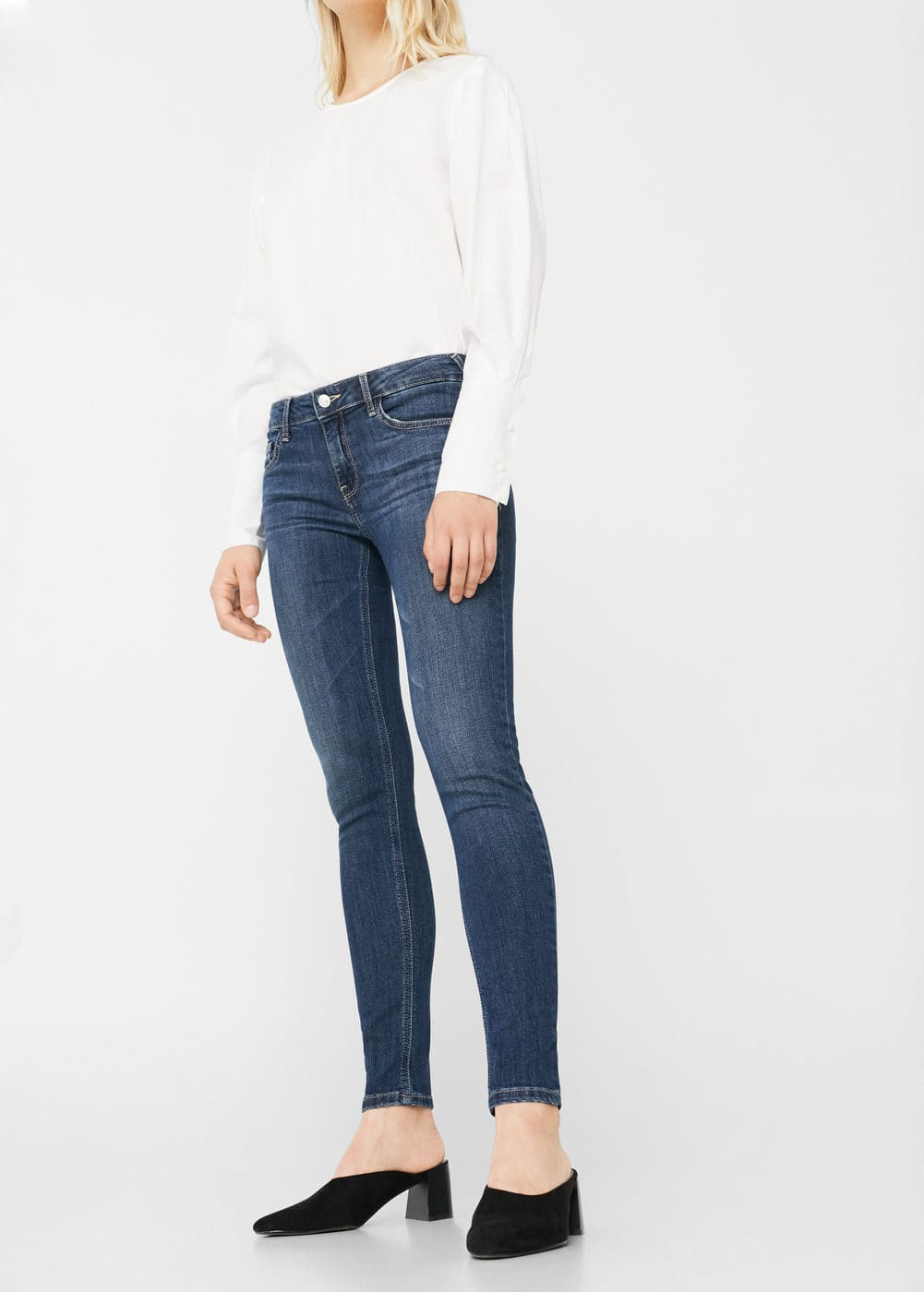 Texans skinny push-up kim | MANGO