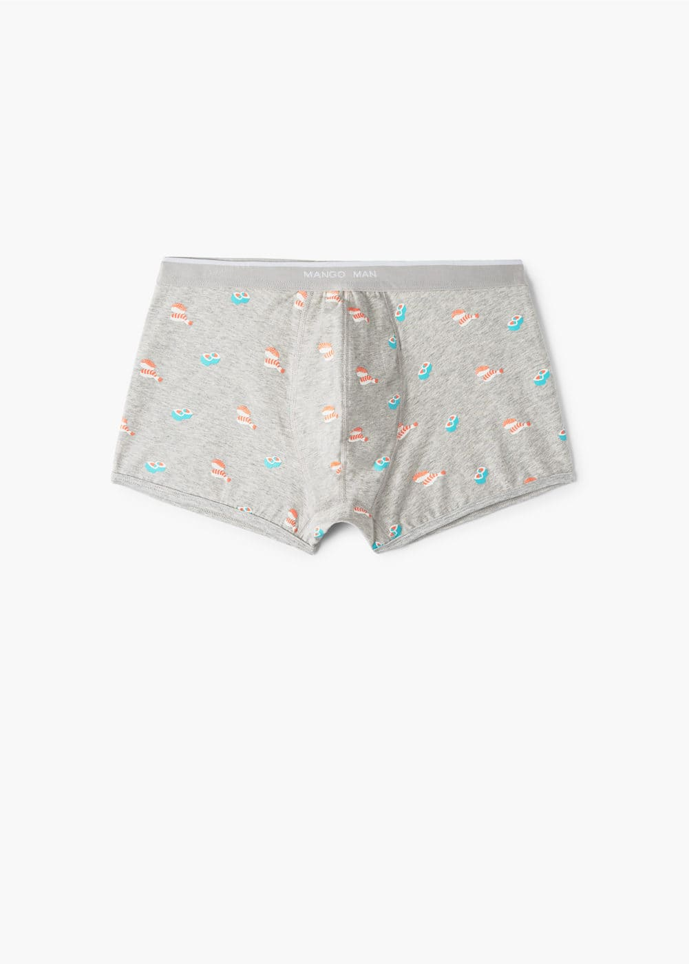 Sushi printed cotton boxer shorts | MANGO