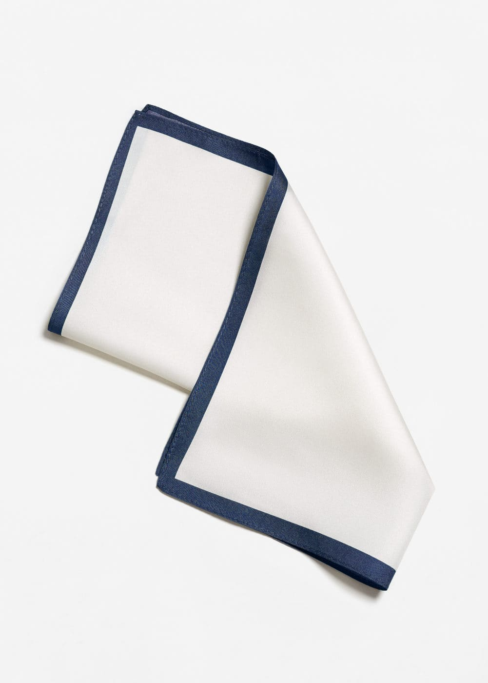 Silk pocket square | MANGO