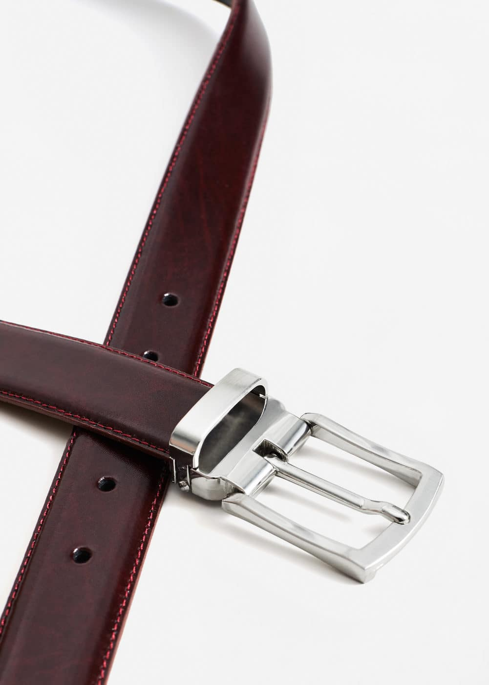 Leather suit belt | MANGO