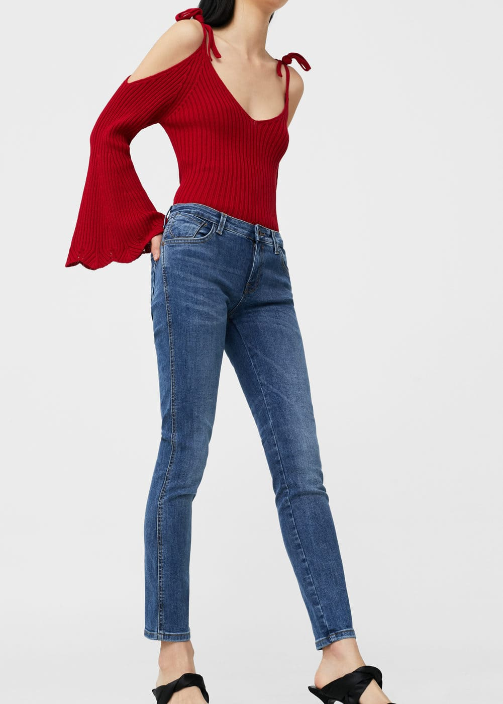 Push-up uptwon jeans | MANGO