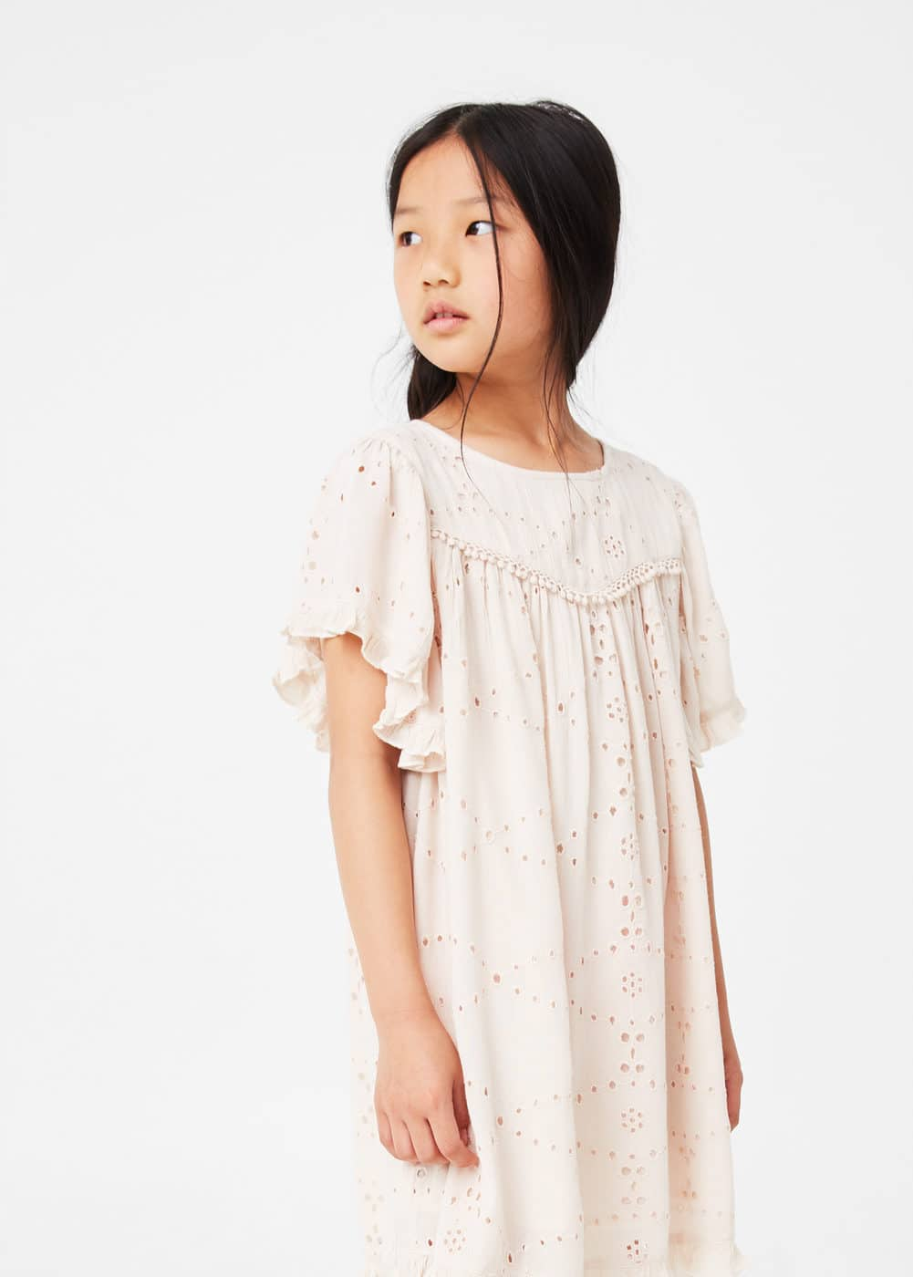 Open-work dress | MANGO KIDS