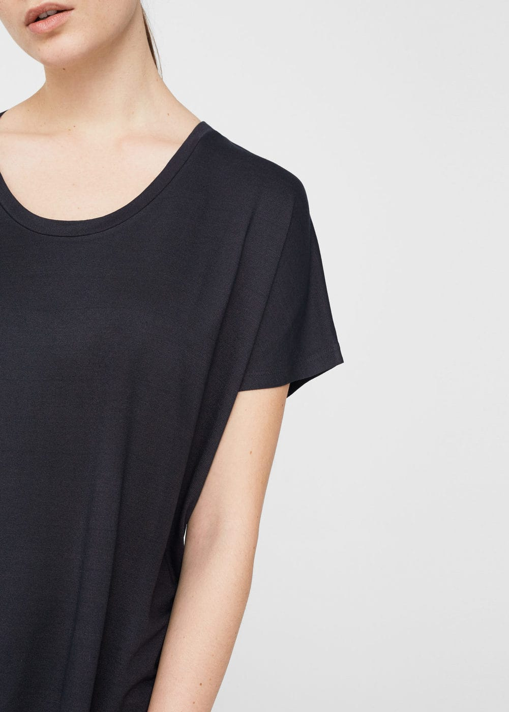 Relax flowy t-shirt | MNG