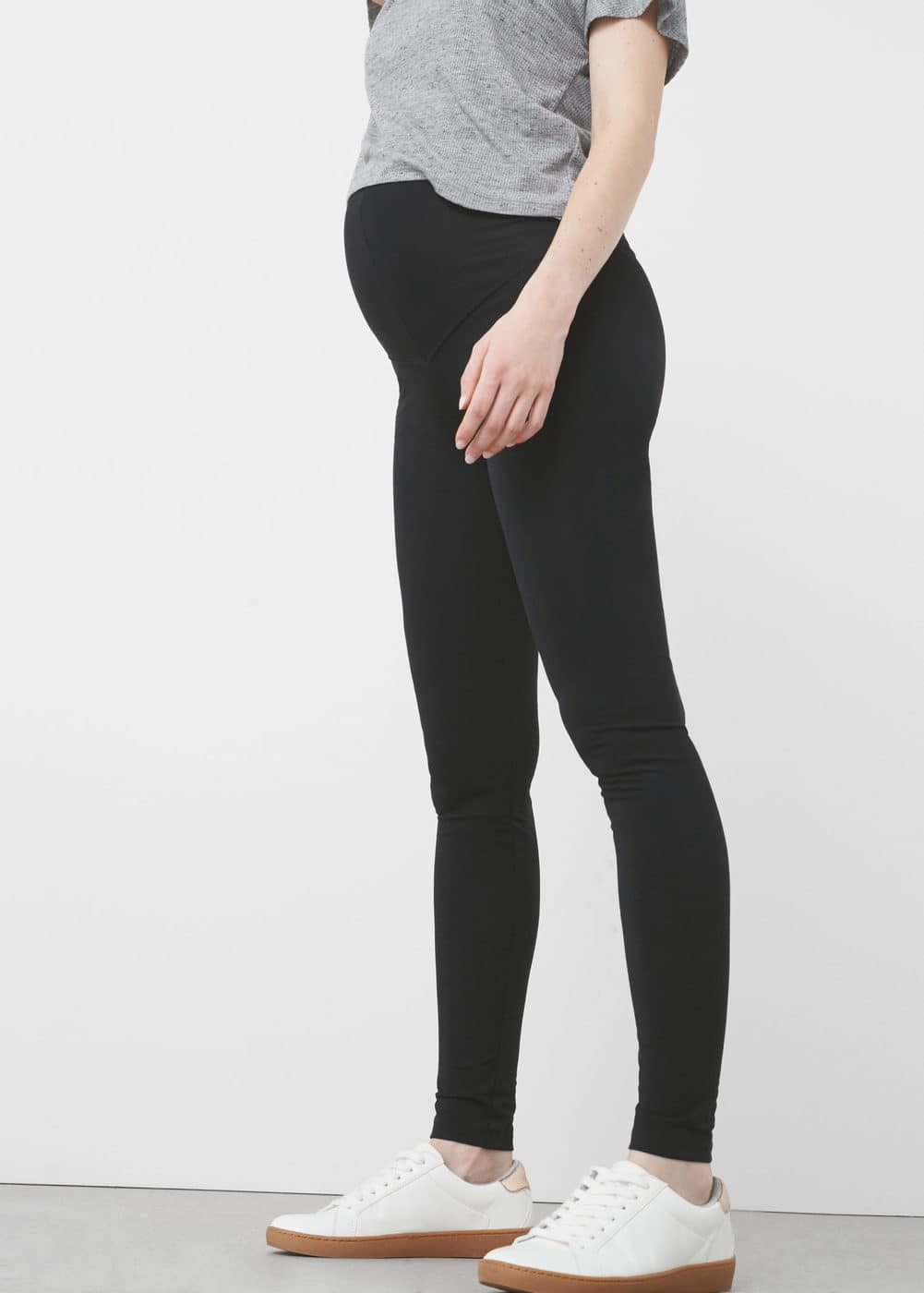Maternity cotton leggins | MANGO