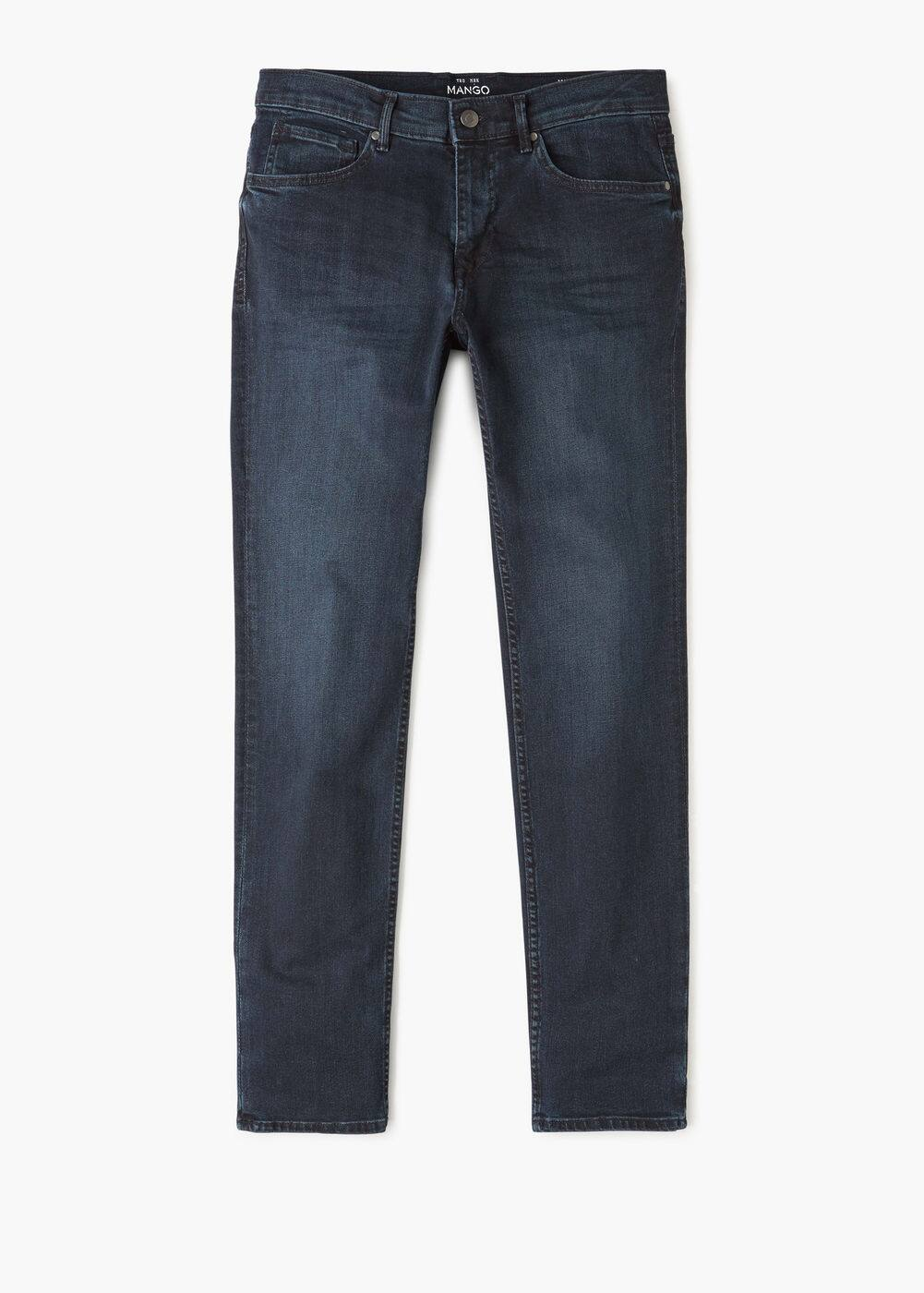 Slim-fit dark wash jan jeans | MANGO