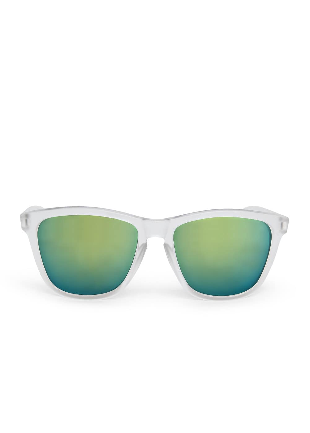 Mirrored lens squared sunglasses | MANGO