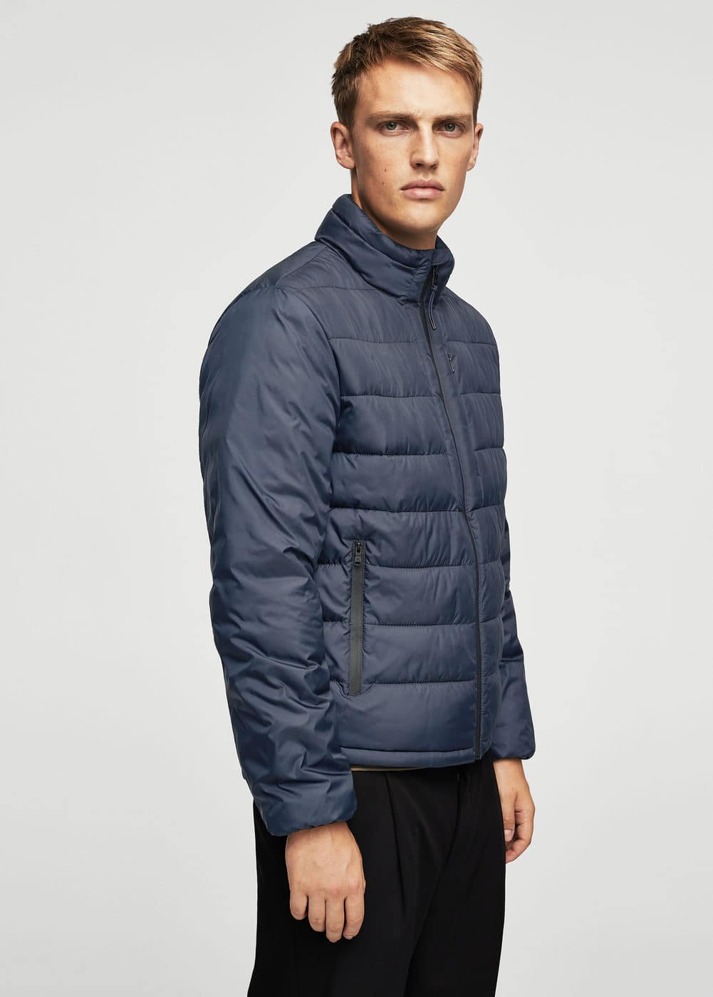 Quilted light jacket | MANGO MAN