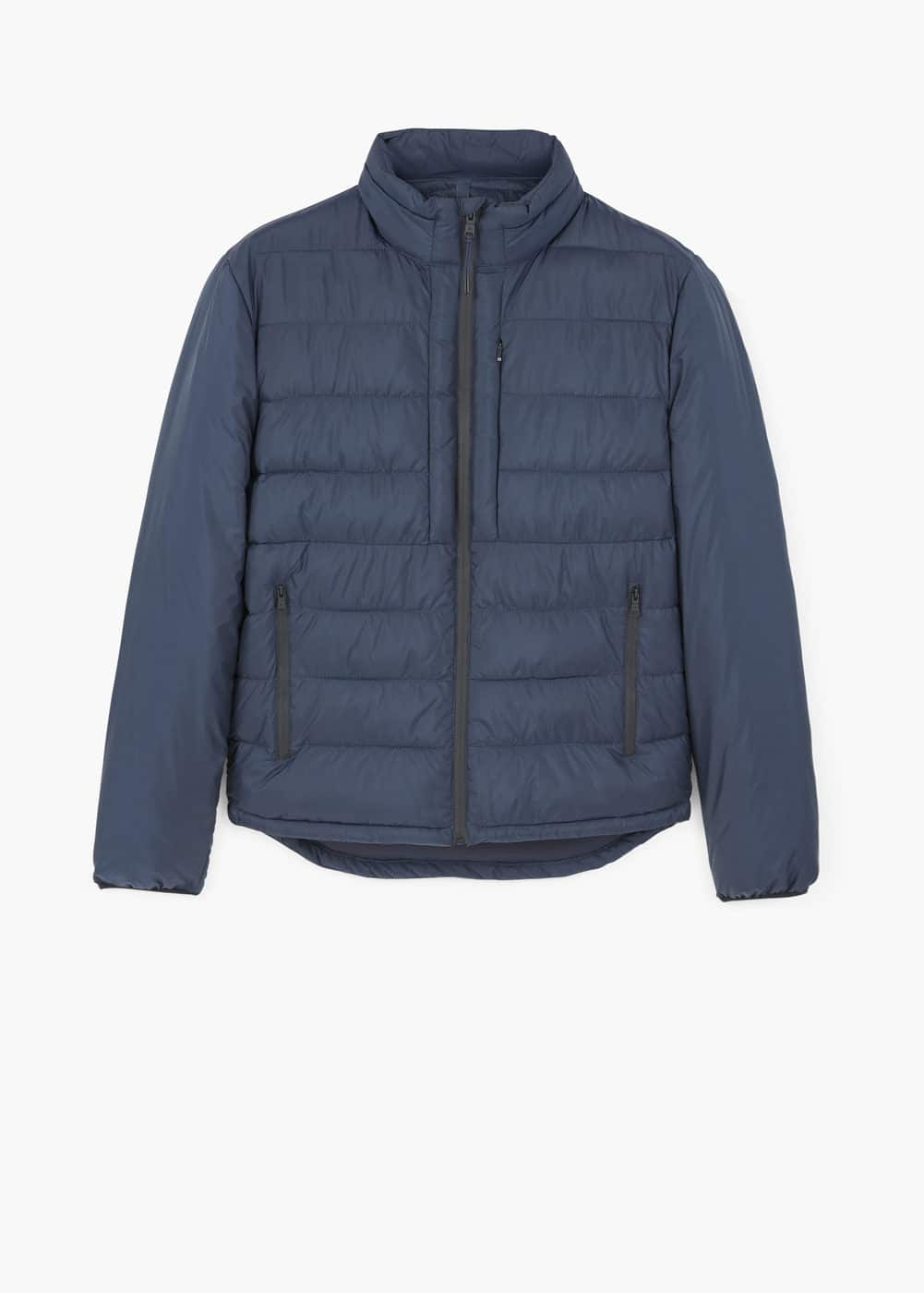 Quilted nylon jacket | MANGO