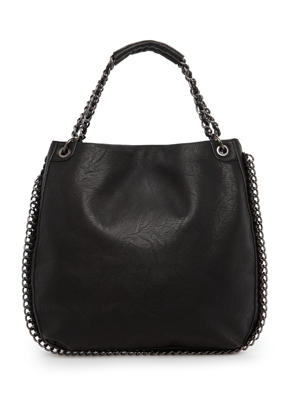 Chains shopper bag | MANGO