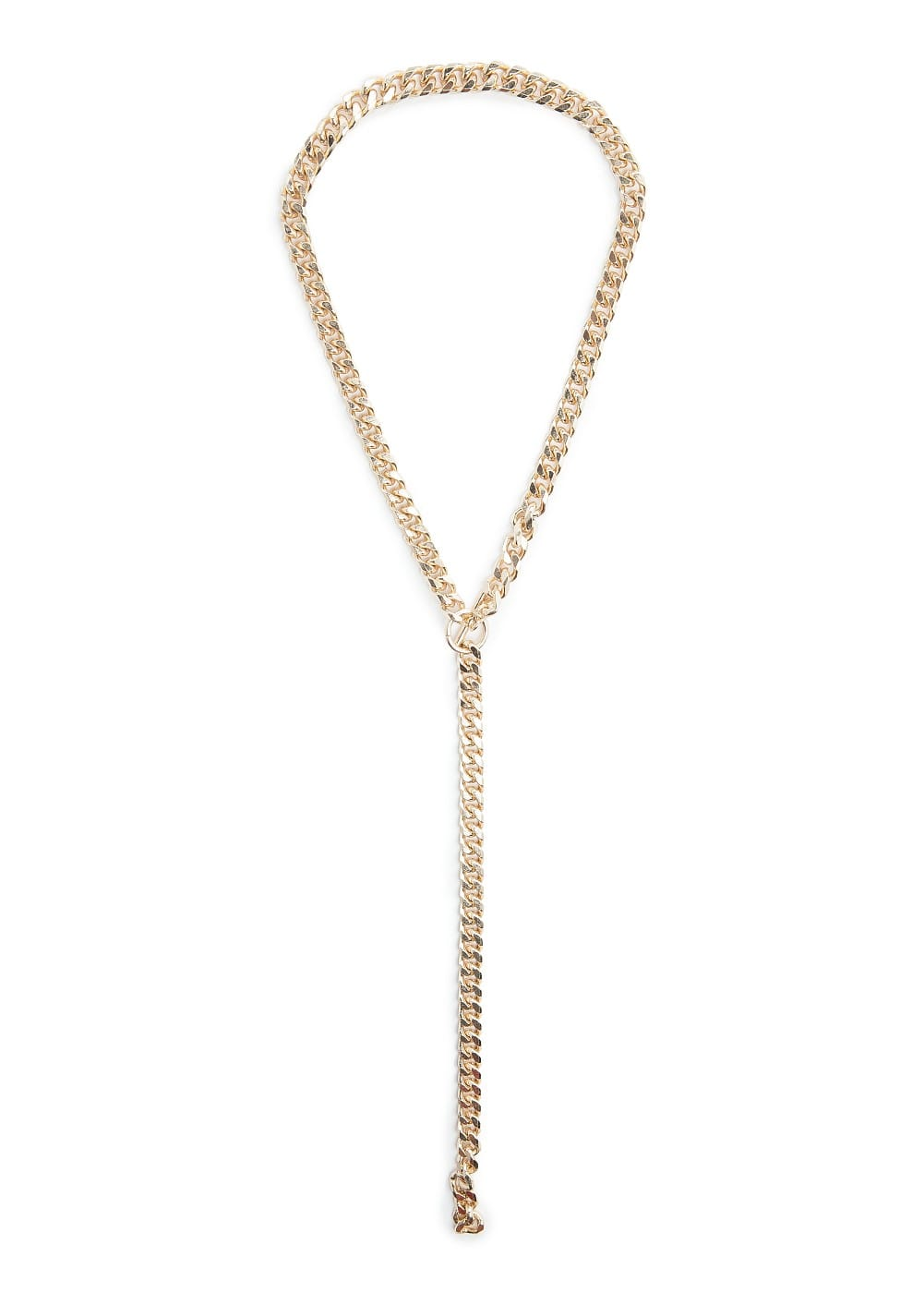 Metal chain necklace | MANGO