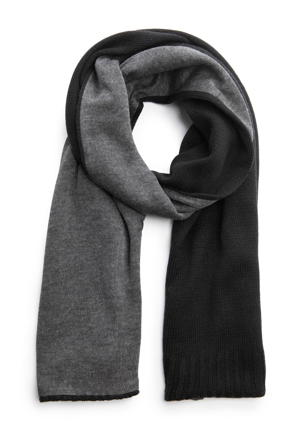 Two tone scarf | MANGO
