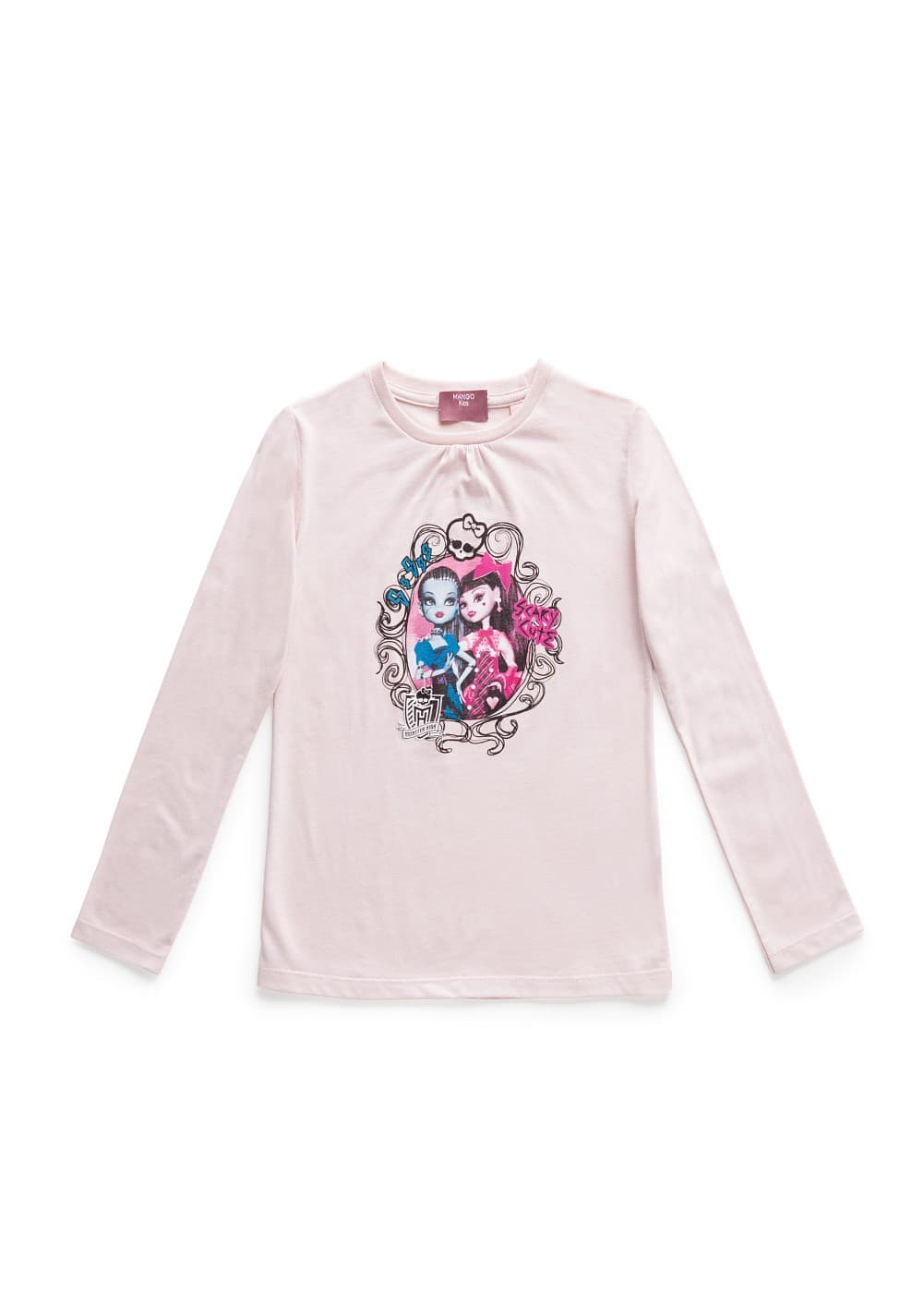 Monster-high print t-shirt | MANGO KIDS