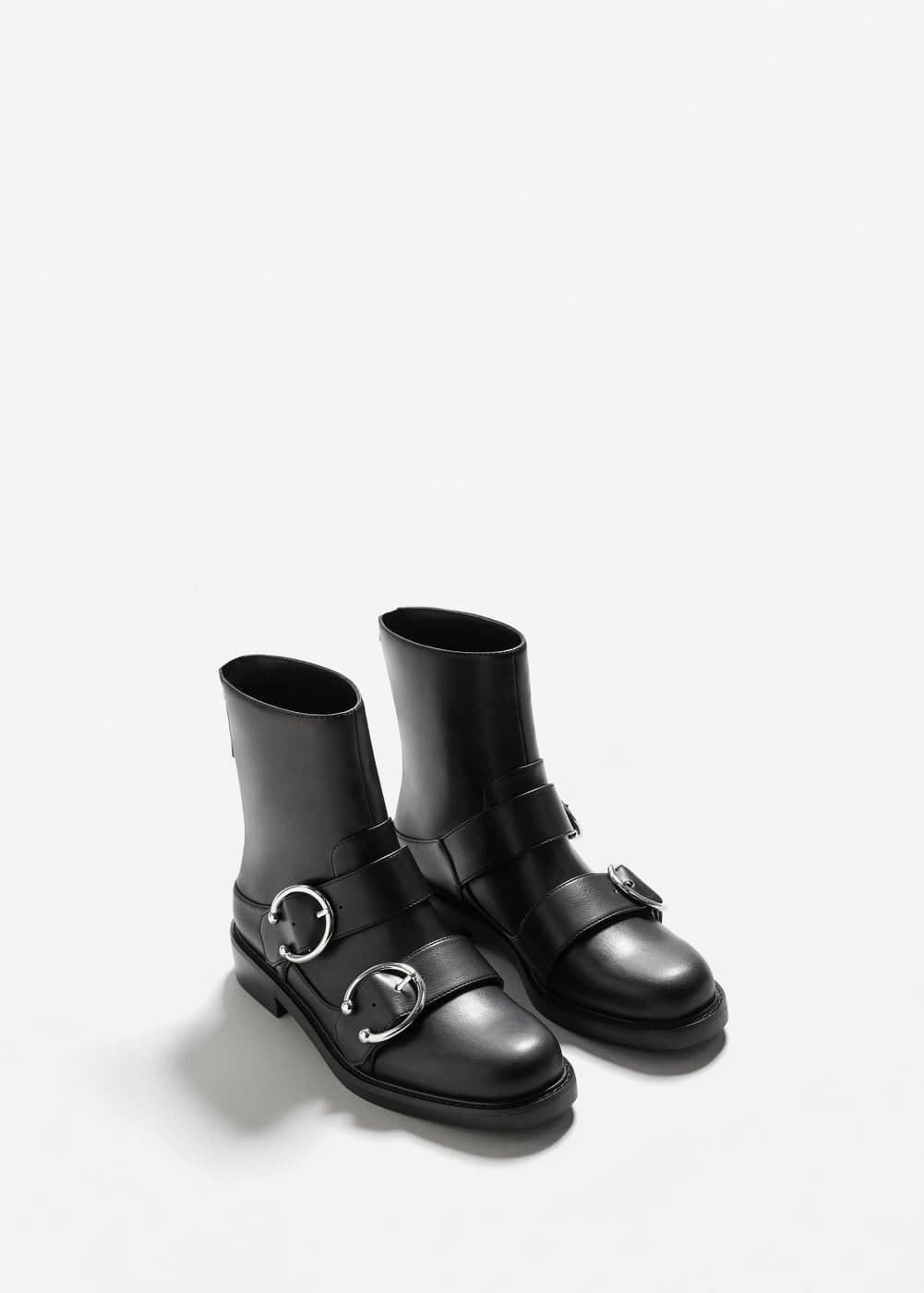 Piercing detail ankle boots | MANGO