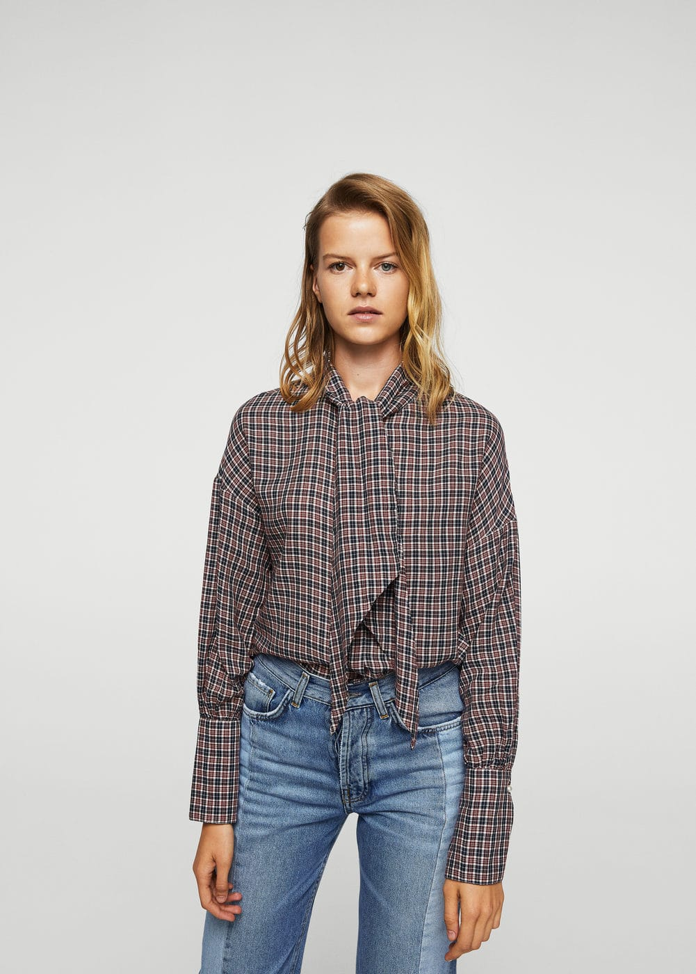 Decorative bow blouse | MANGO
