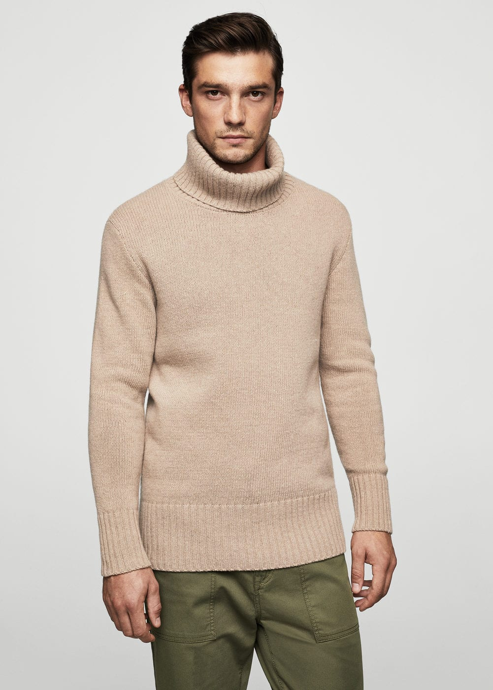 Recycled wool sweater | MANGO