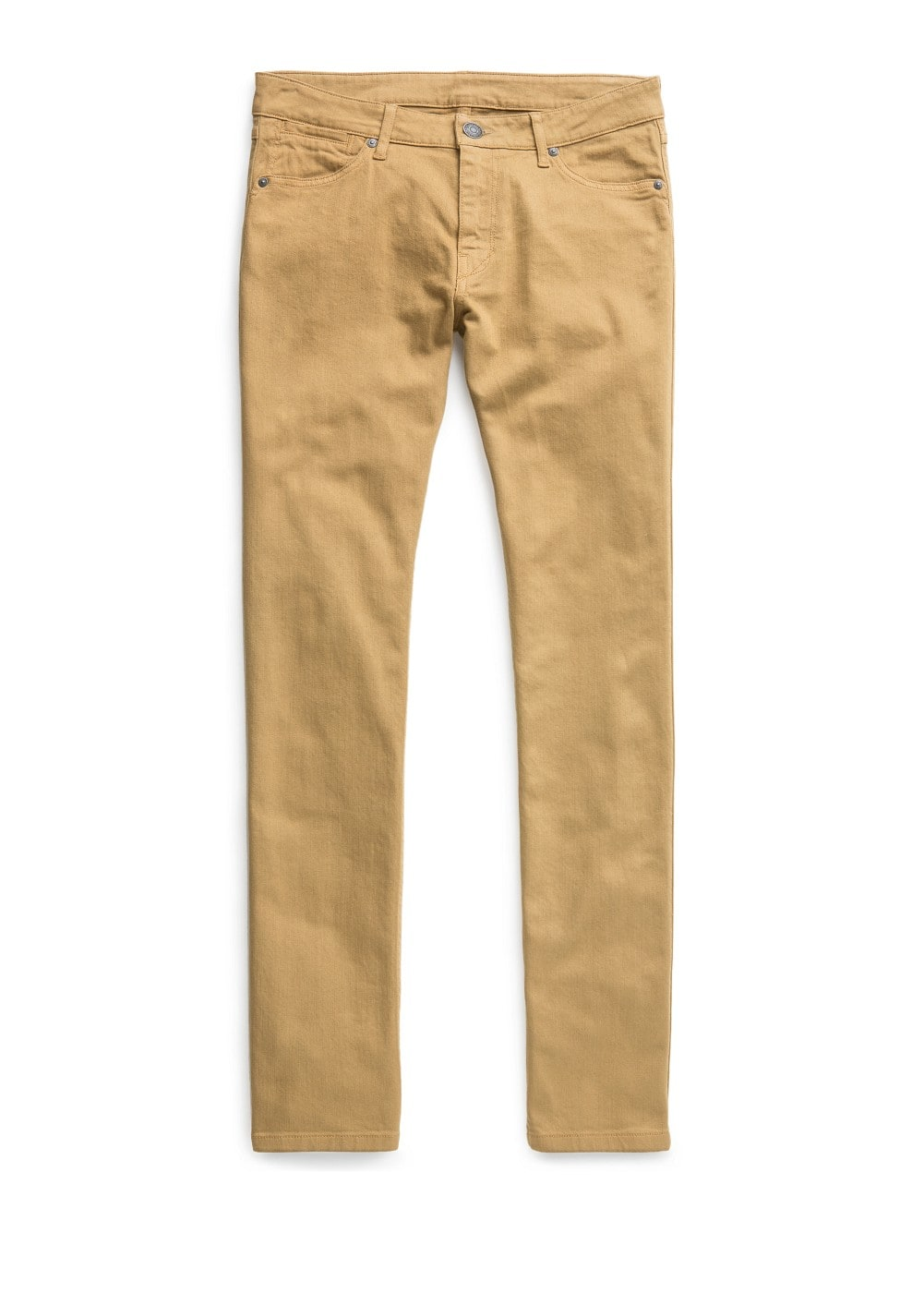 Slim-fit camel alex jeans | MANGO