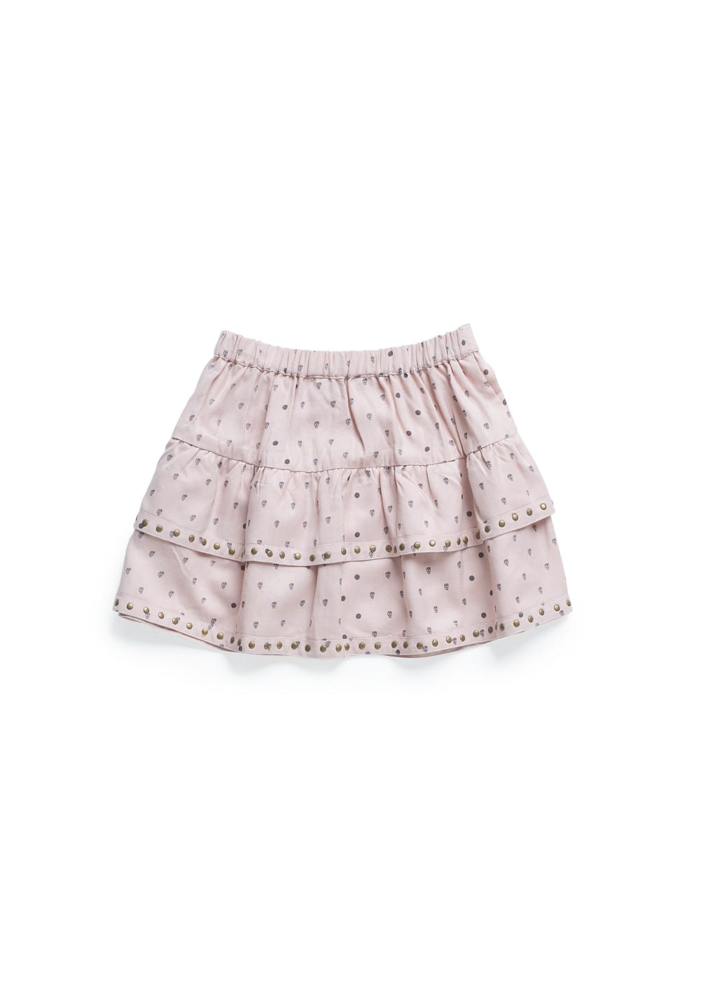 Skull print ruffled skirt | MANGO KIDS