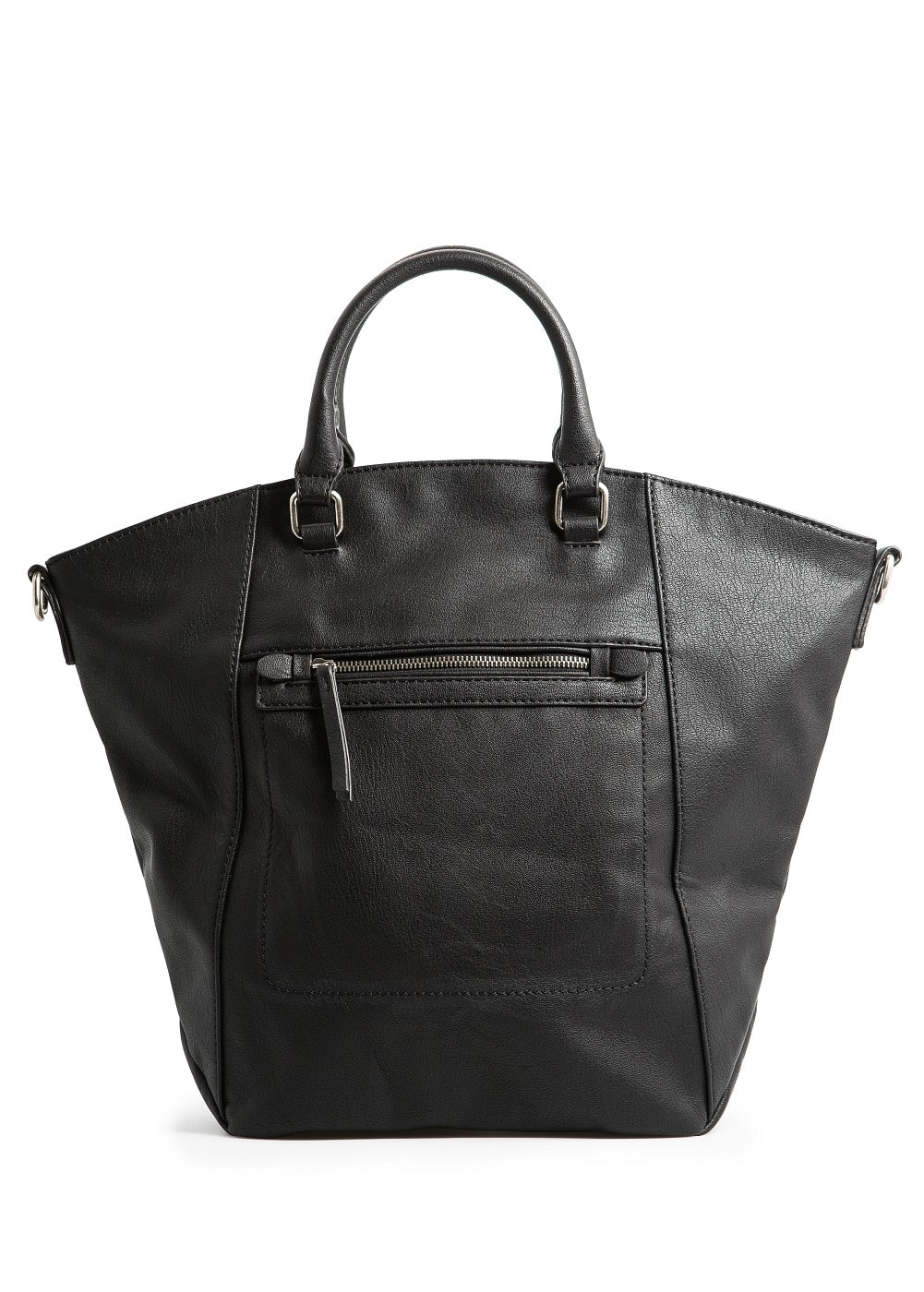 Trapezium shopper bag | MANGO