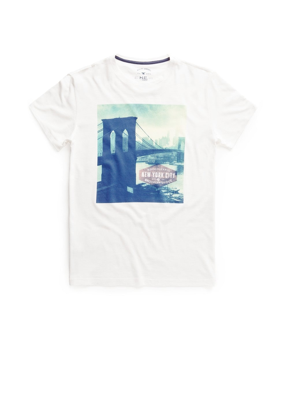 Brooklyn printed t-shirt | MANGO MAN
