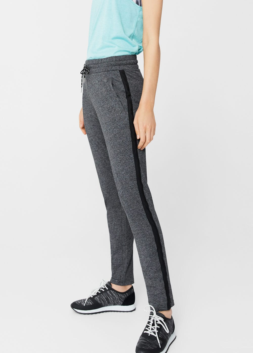 Drawstring baggy trousers | MNG