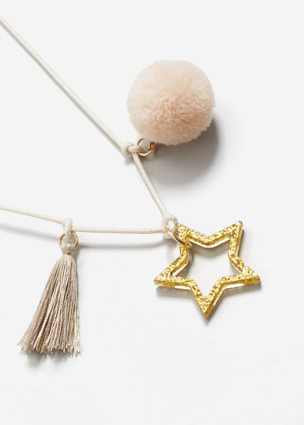 Mixed pendant necklace | MANGO