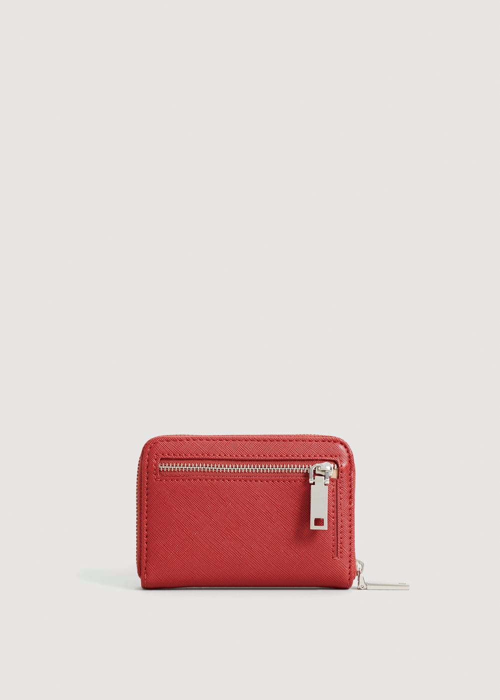 Safiano-effect purse | MANGO