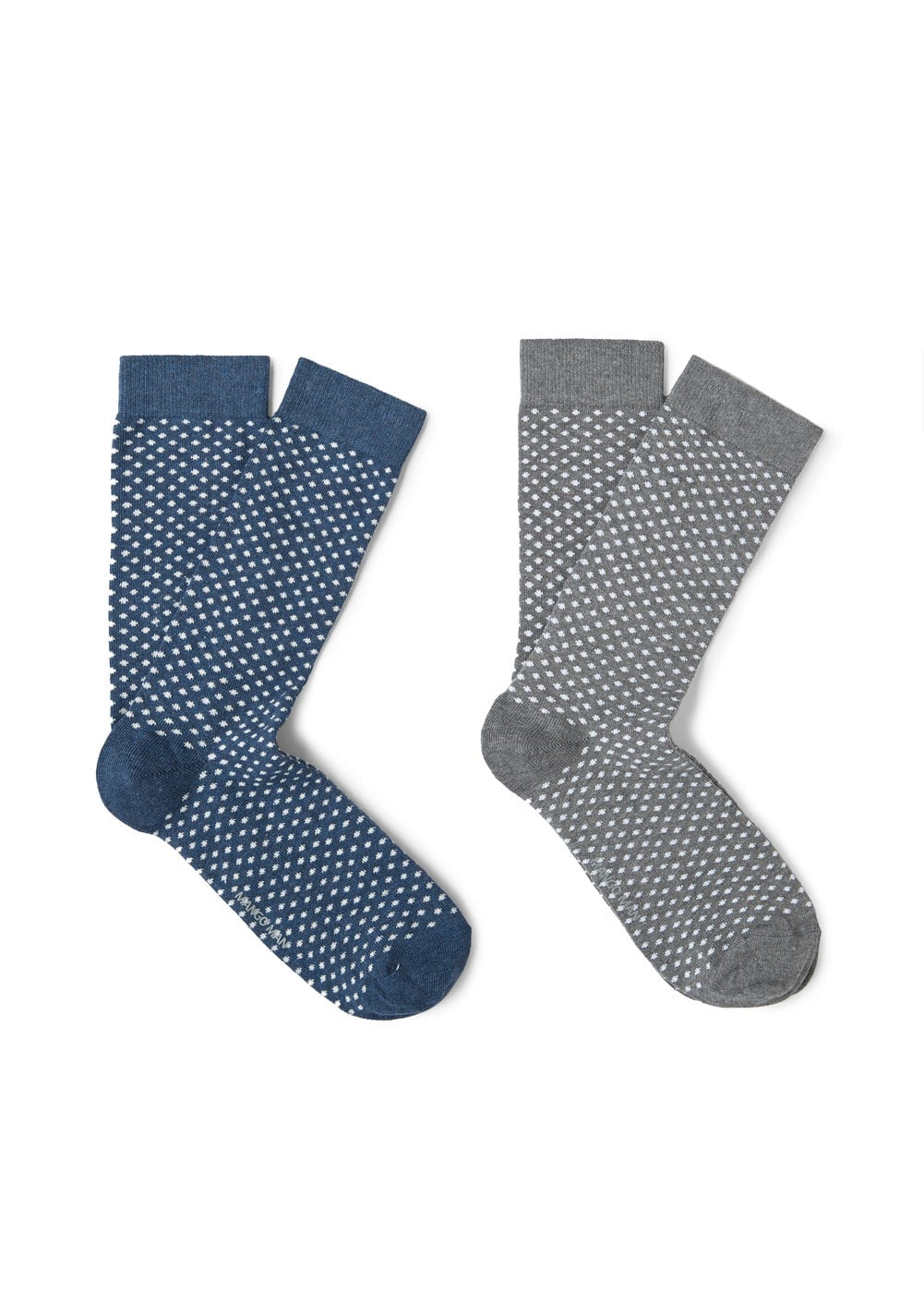 2 pack polka-dot socks | MANGO