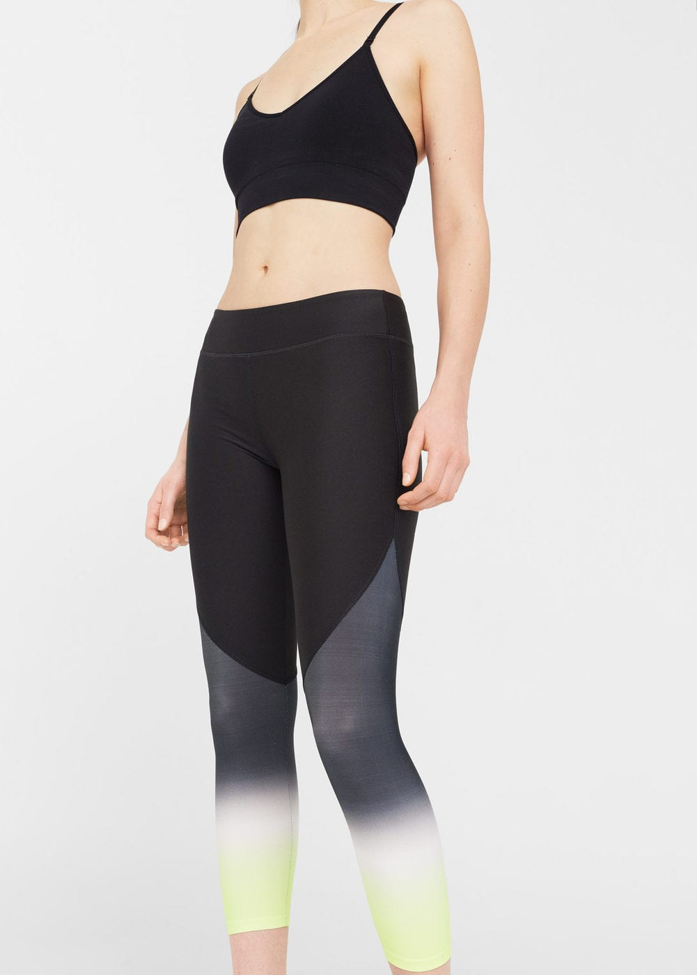 Gradient leggings | MANGO