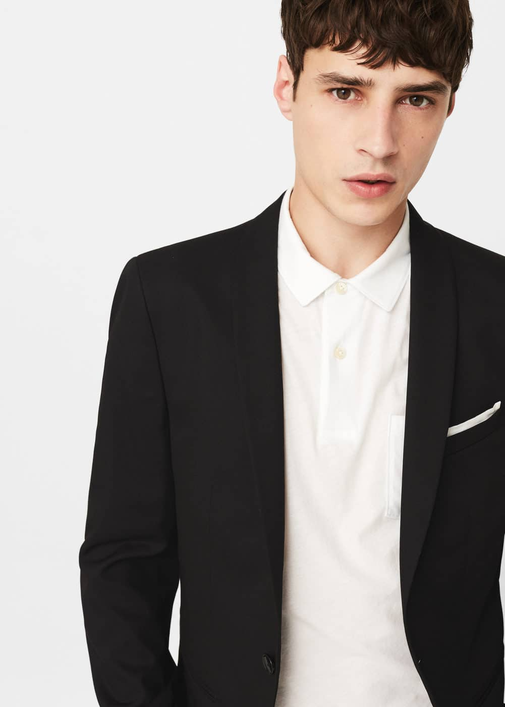 Super slim-fit patterned suit blazer | MANGO