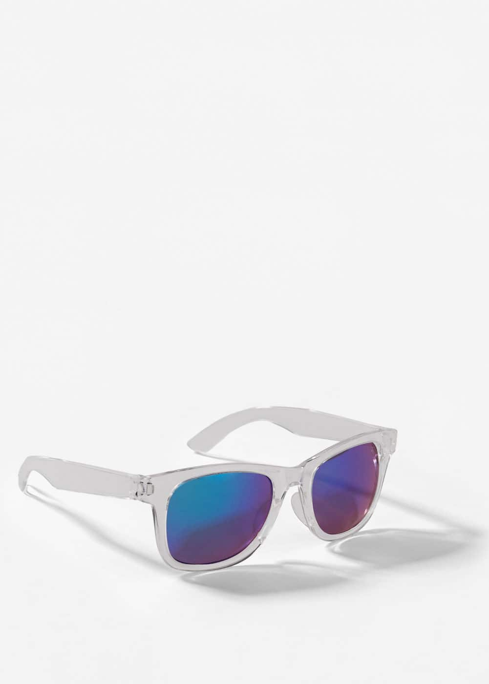 Mirrored lenses sunglasses | MANGO