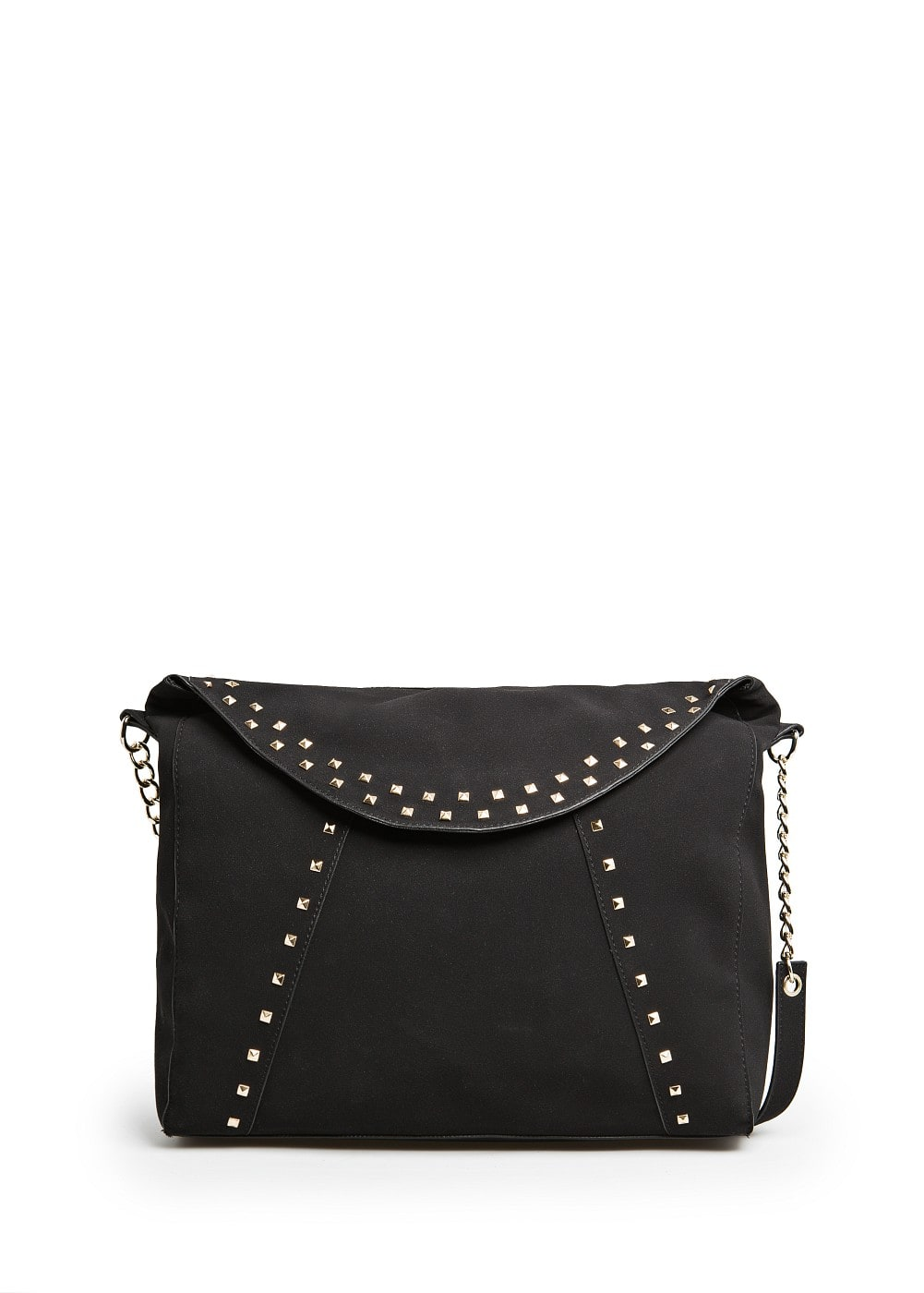 Studded tote flap bag | MANGO