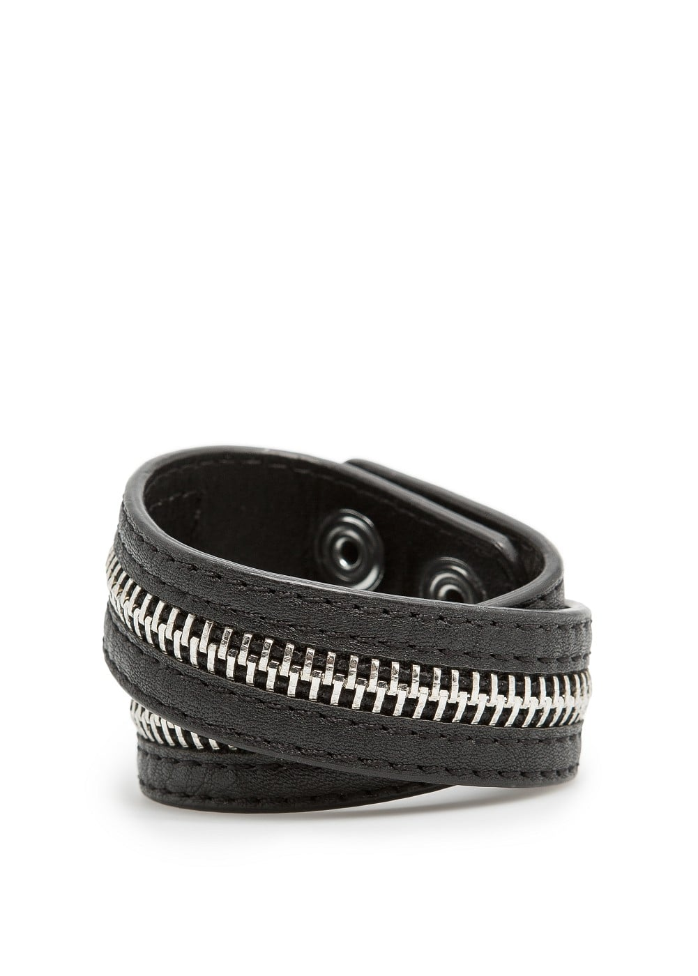 Zip detail double cuff | MANGO