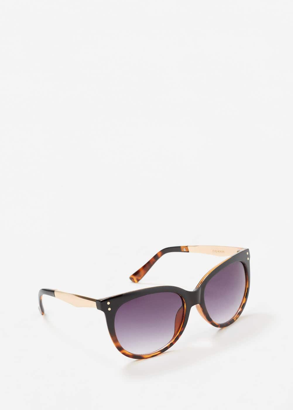 Contrast arm sunglasses | MANGO