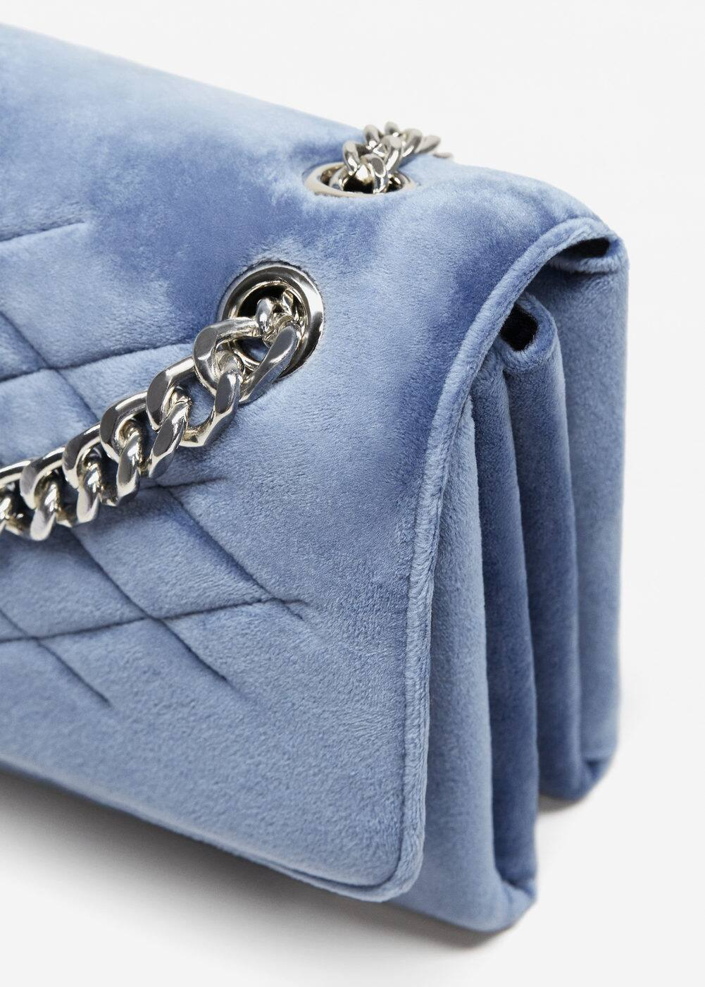 Velvel quilted bag | MANGO