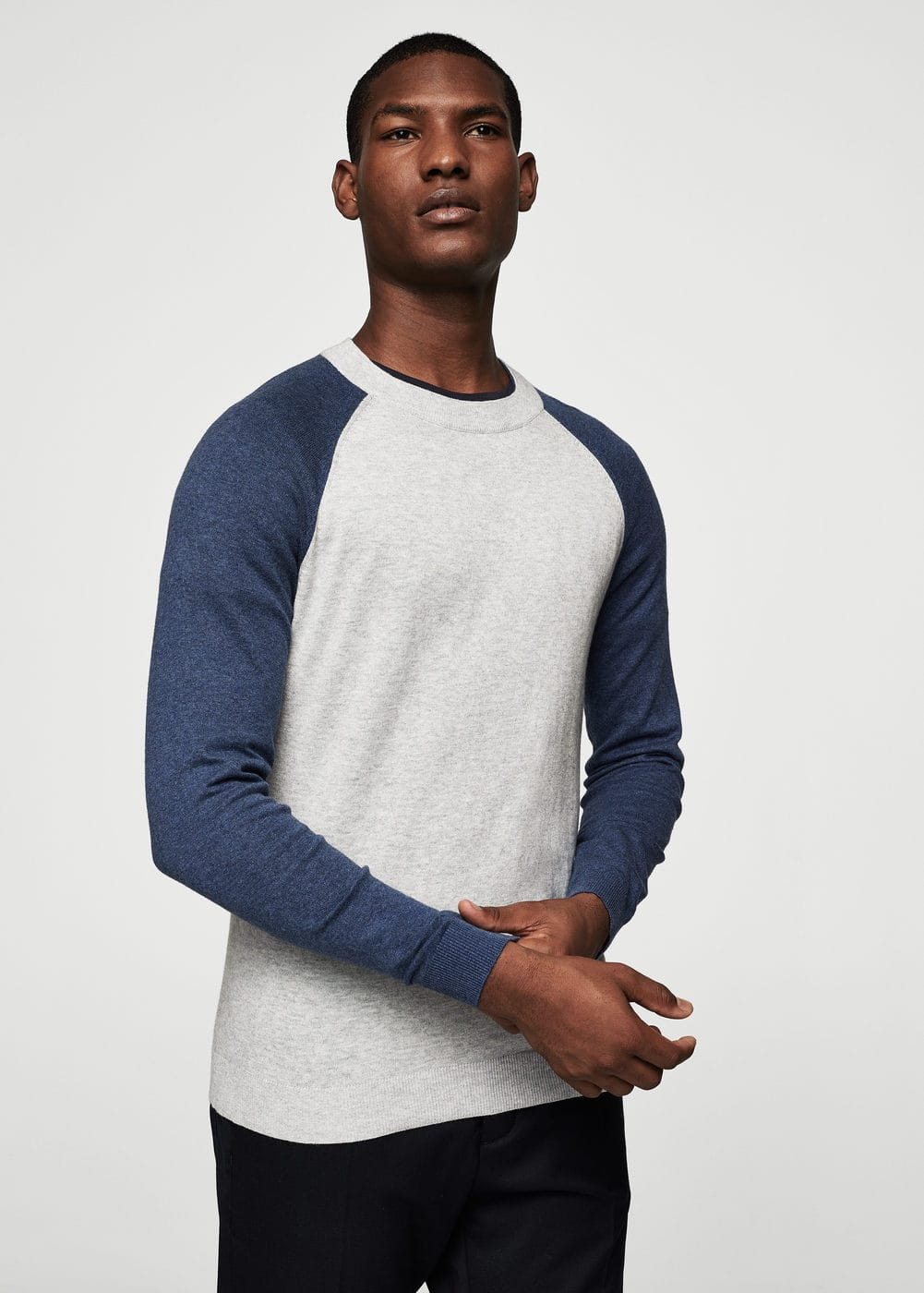 Cotton cashmere-blend sweater | MANGO