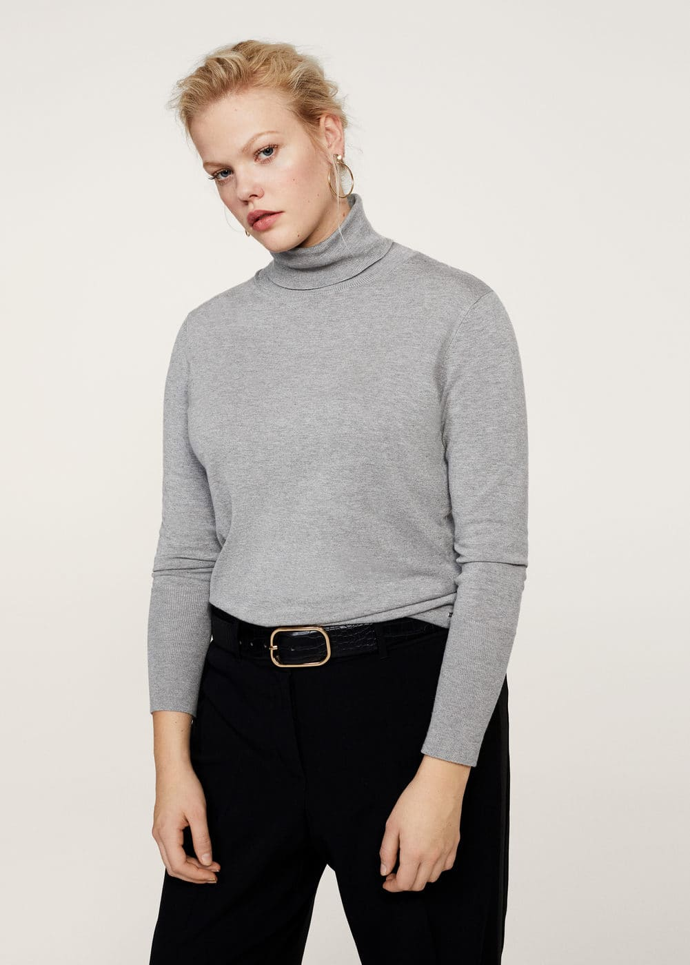 Pullover collo alto | VIOLETA BY MANGO